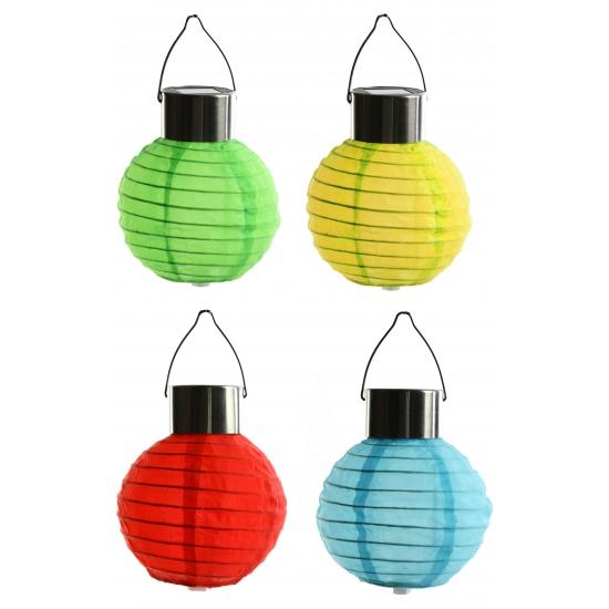 Image of Solar party lampion gekleurd