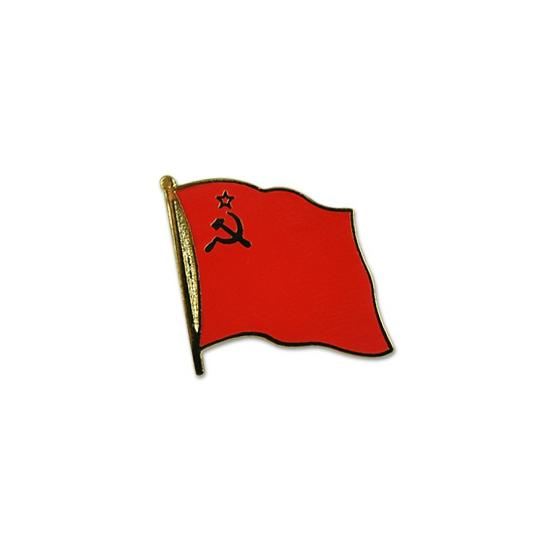 Image of Sovjet Unie pin vlag 20 mm