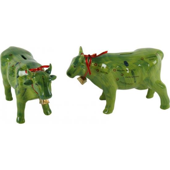 Image of Spaarpot groene koe