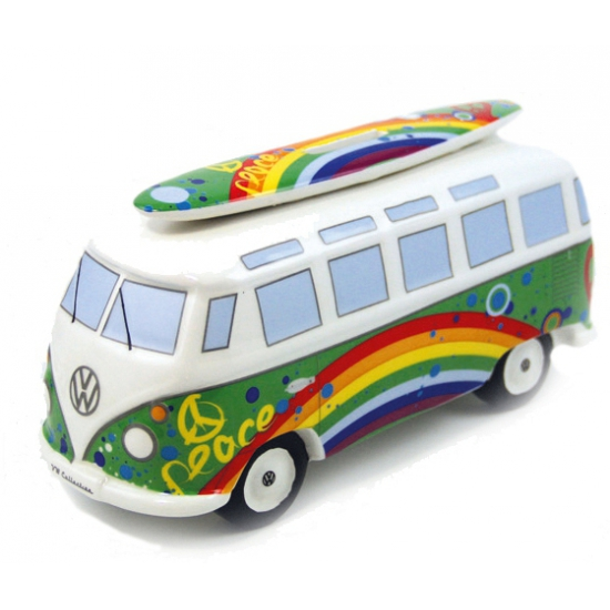 Image of Spaarpot peace VW bus