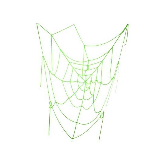 Image of Spinnenweb groen 100 cm