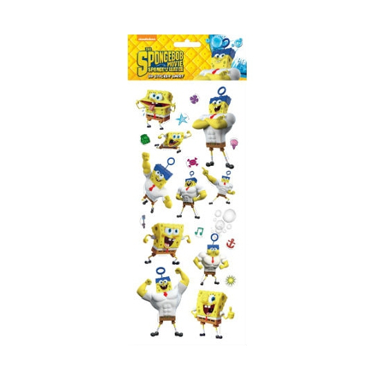 Image of Spongebob 3D thema stickers