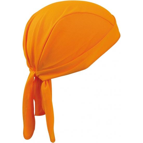 Sport bandana oranje volwassenen