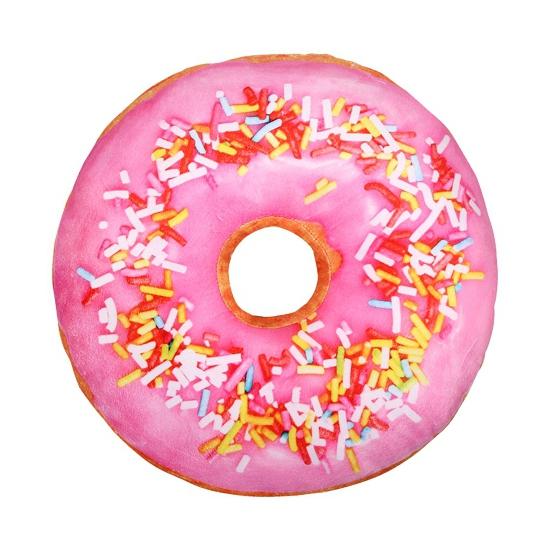 Image of Sprinkels donut kussen roze 40 cm