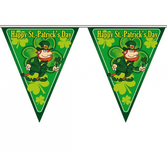 Image of St. Patricks day vlaggenlijnen