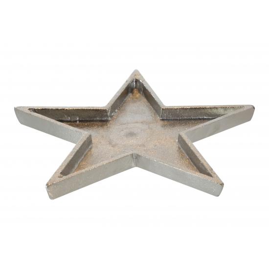 Image of Ster onderzetter metaal 26 cm