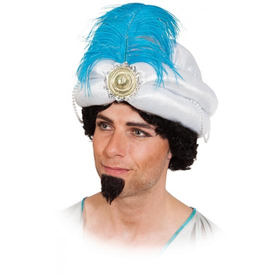 Image of Sultan hoed met veer volwassenen