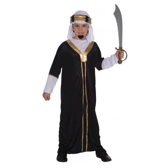 Sultan kostuum inclusief hoofddoek voor kinderen