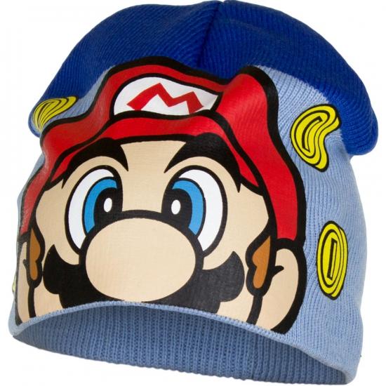 Image of Super Mario muts blauw