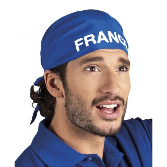 Image of Supporters bandana blauw France