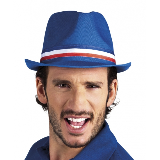 Image of Supporters hoedje blauw Frankrijk