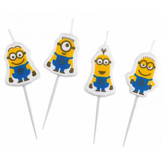 Image of Taartkaarsjes Minions
