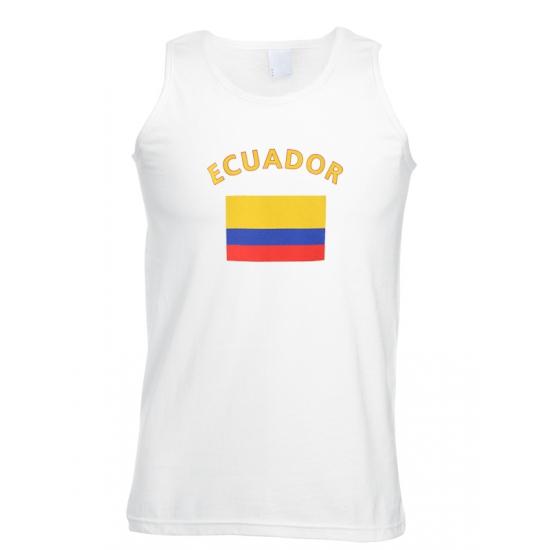 Tanktop Ecuador vlag print
