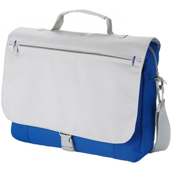 Image of Tas voor naar je werk grijs/blauw