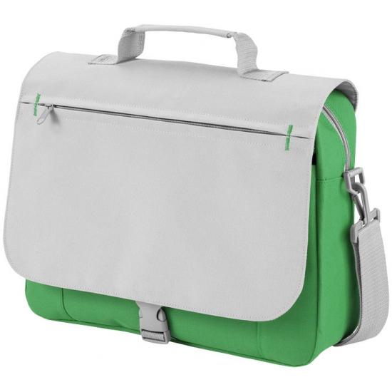 Image of Tas voor naar je werk grijs/groen