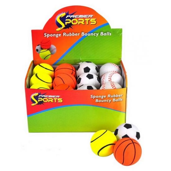 Tennisballen speel stuiterbal