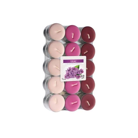 Image of Theelichten lilac 30 stuks