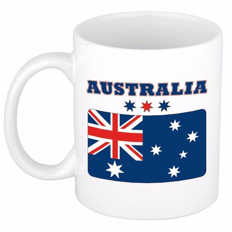Image of Theemok vlag Australie