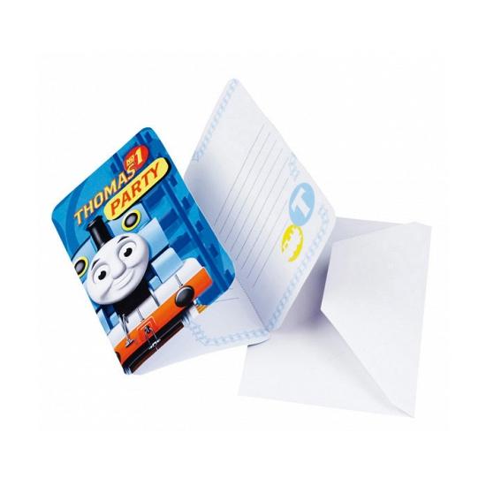 Image of Thomas de Trein uitnodigingen en enveloppen