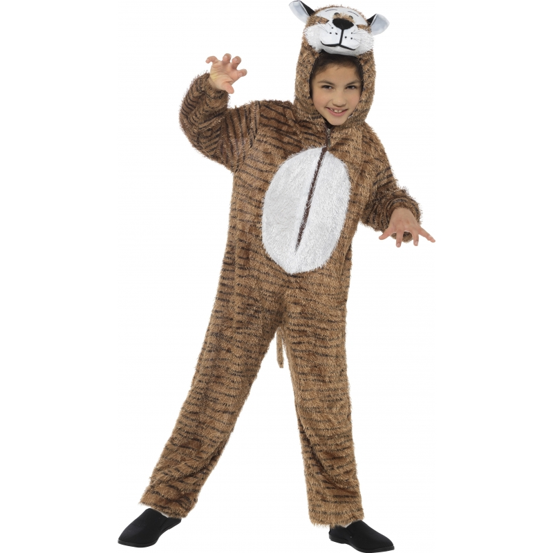 Tijger jumpsuit voor kinderen