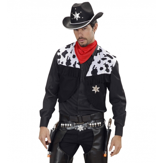 Image of Toppers Cowboy dubbele holster western look