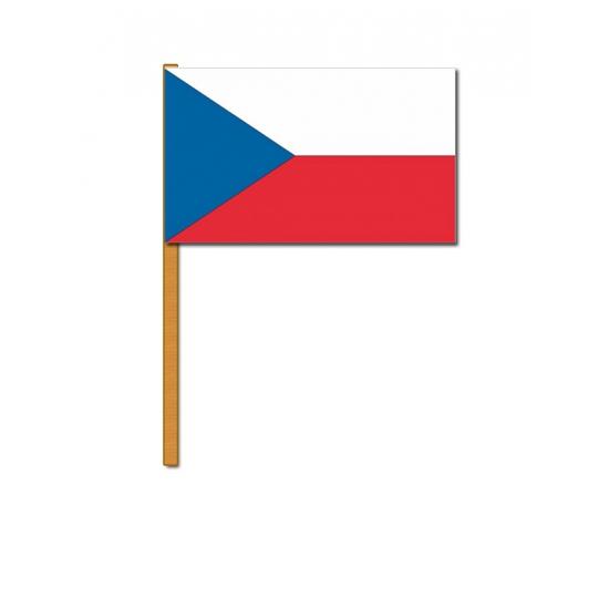 Tsjechisch zwaaivlaggetje