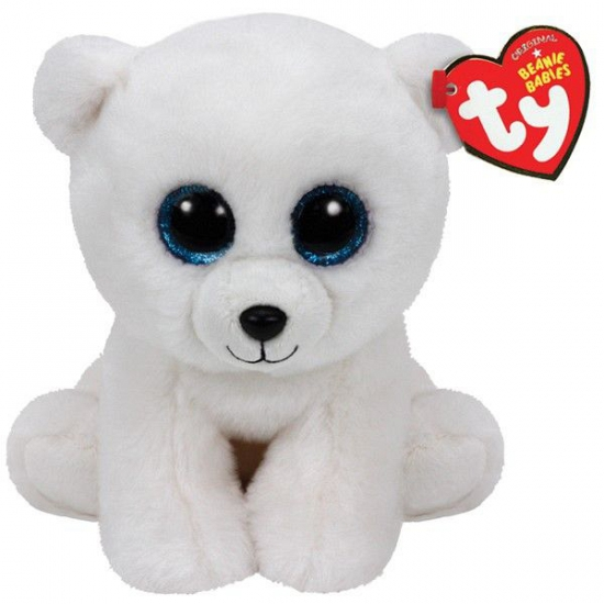 Image of Ty Beanie knuffel ijsbeer 15 cm