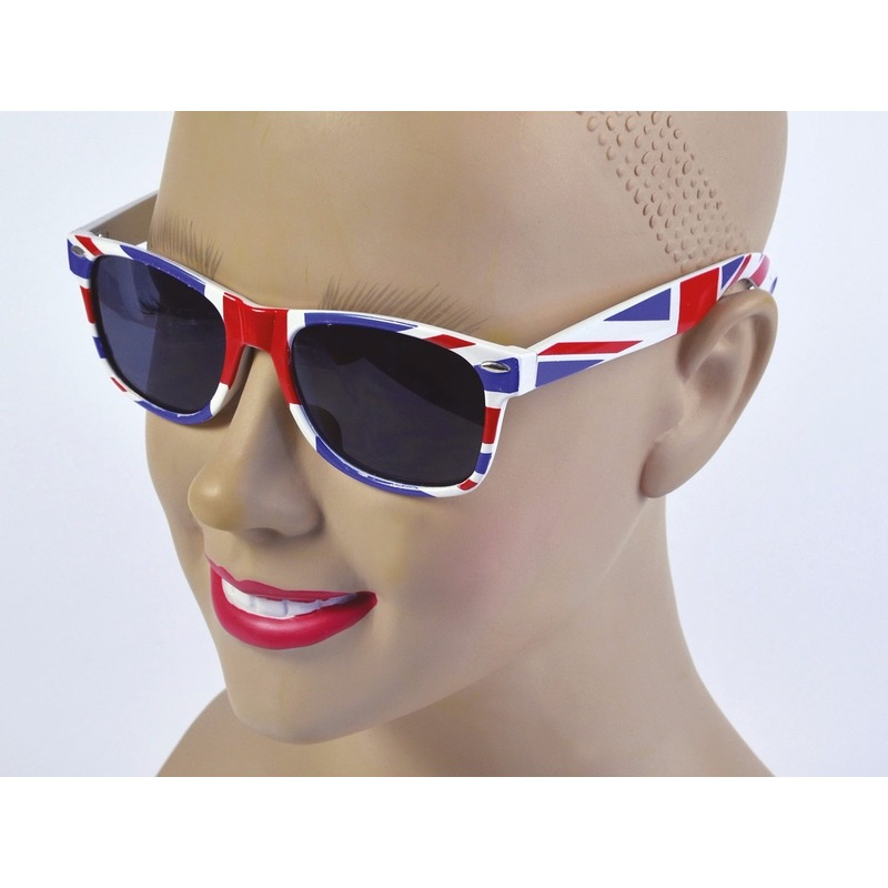 Image of Union Jack feestbril