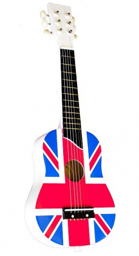 Union Jack gitaar voor kinderen