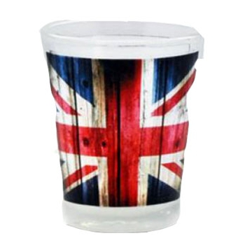 Image of Union jack shotglaasje
