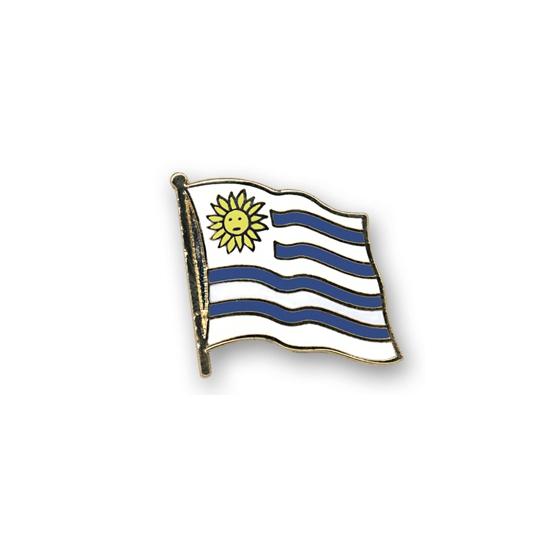 Uruguay pin vlag 20 mm