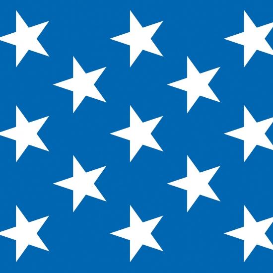 Image of USA scenesetter met sterren