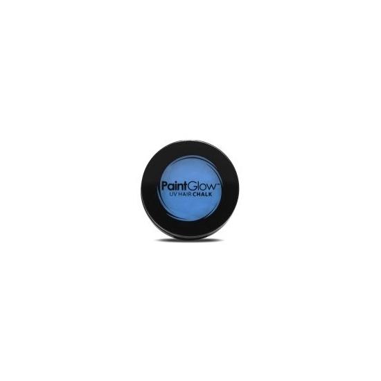 Image of UV haarkrijt blauw