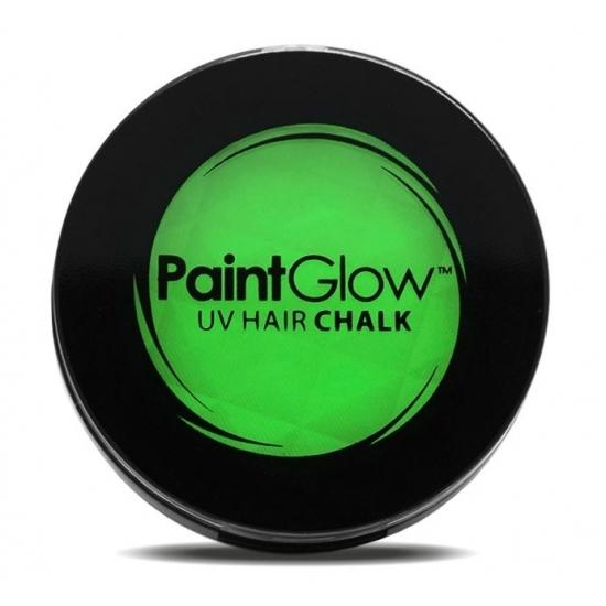 Image of UV haarkrijt groen