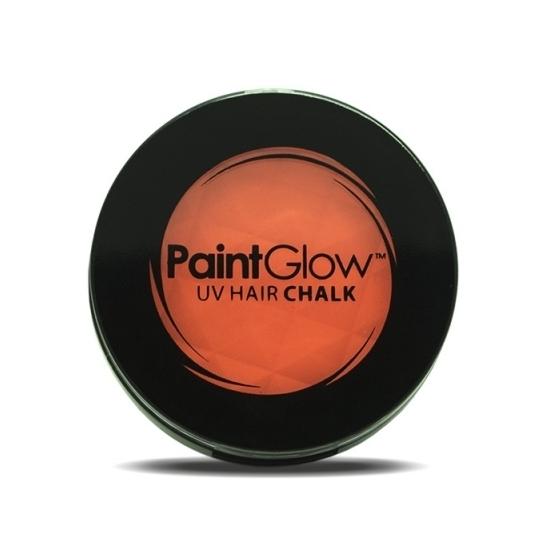 Image of UV haarkrijt oranje