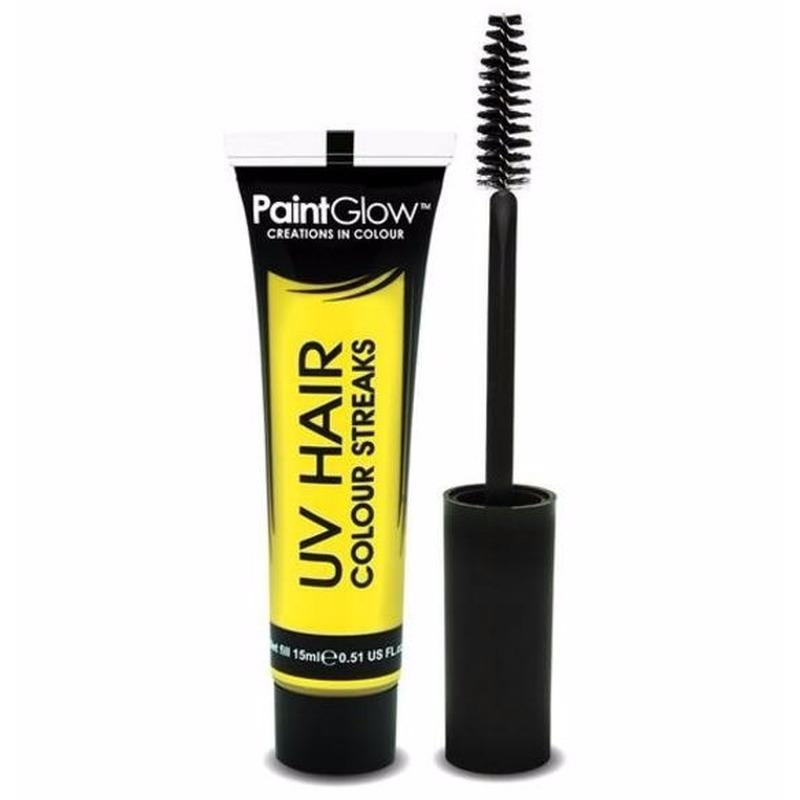 Image of UV haarmascara geel