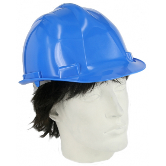 Image of Veiligheids helm blauw
