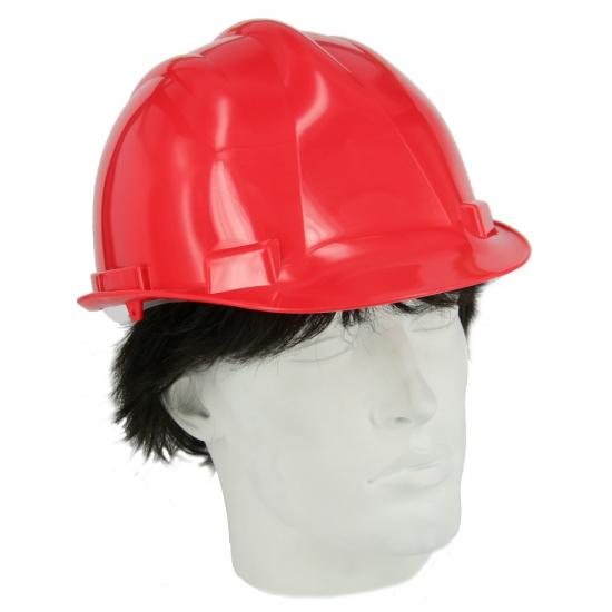 Image of Veiligheids helm rood
