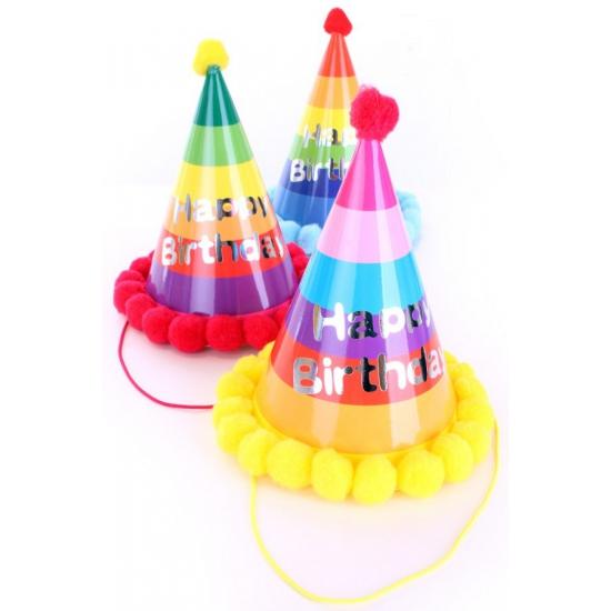 Image of Verjaardag feesthoedje volwassenen