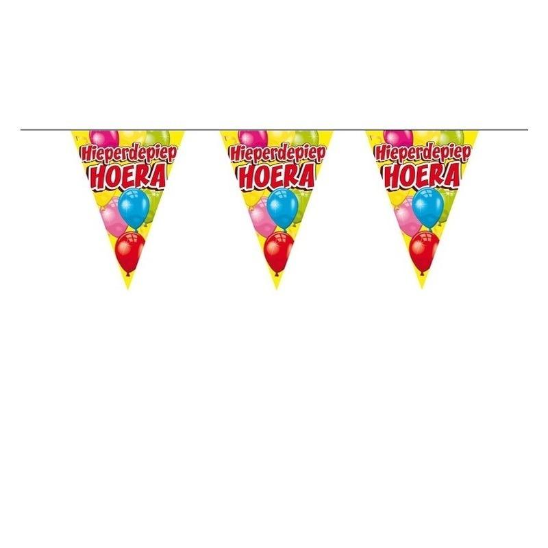 Image of Verjaardag vlaggenlijn 6 meter