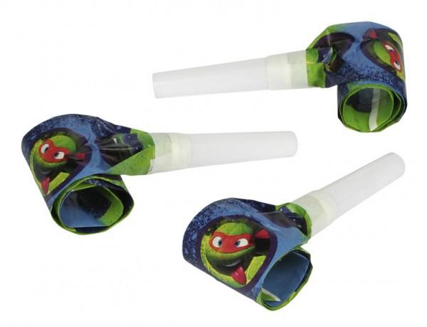 Image of Verjaardagspartijtje Ninja Turtles roltongen