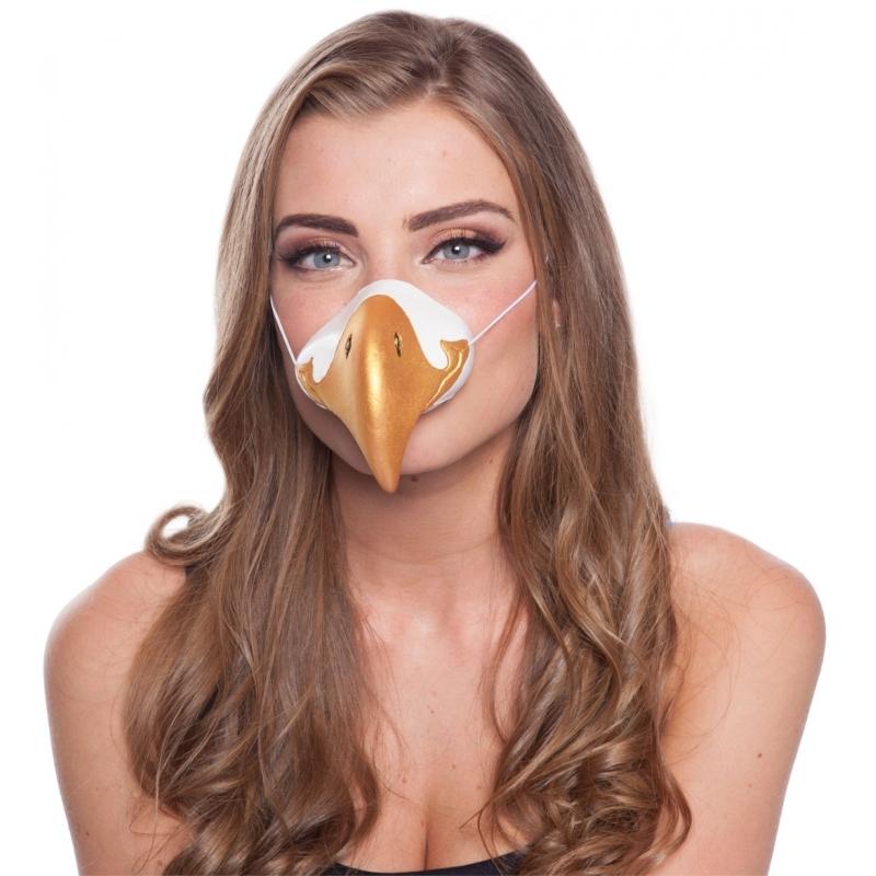 Image of Verkleed adelaars snuit masker
