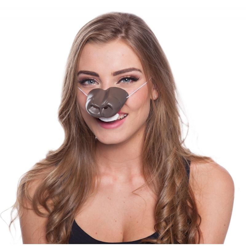 Image of Verkleed paardensnuit masker