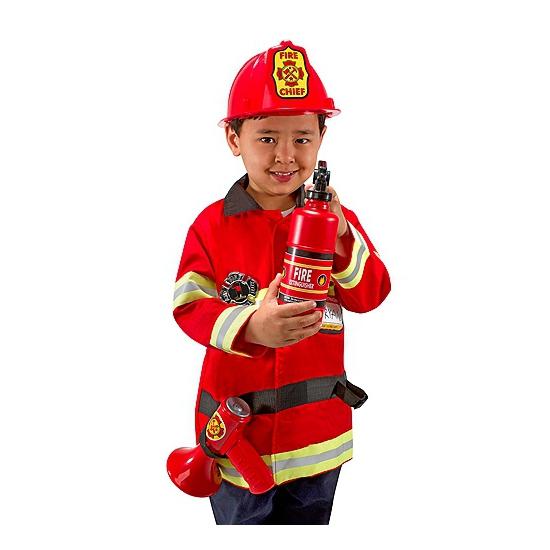 Image of Verkleedkleding brandweer voor kids
