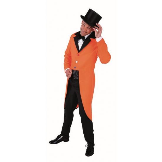 Verkleedkleding oranje slipjas