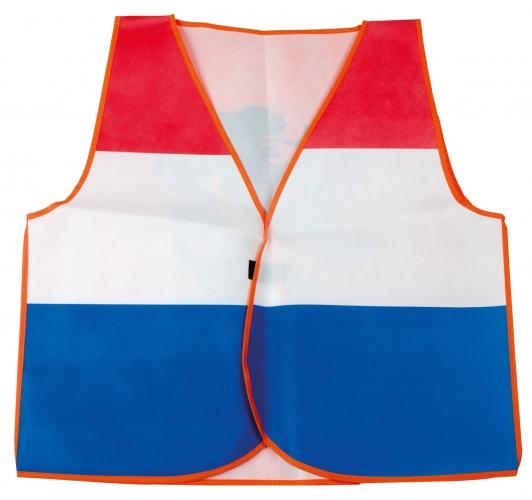 Vestje in de Hollandse kleuren