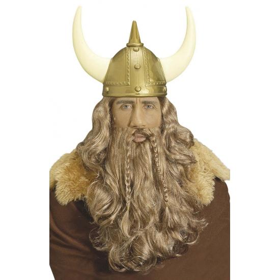 Image of Viking pruik, baard en snor set