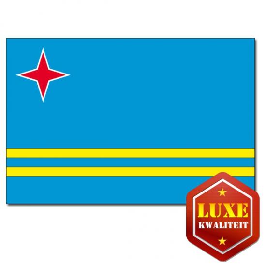 Vlag Aruba 100x150 cm