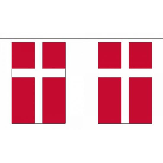 Vlaggenlijn Denemarken 9 m