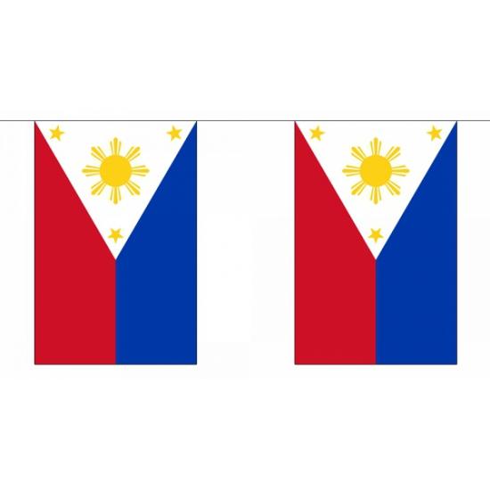 Vlaggenlijn Filipijnen 9 m